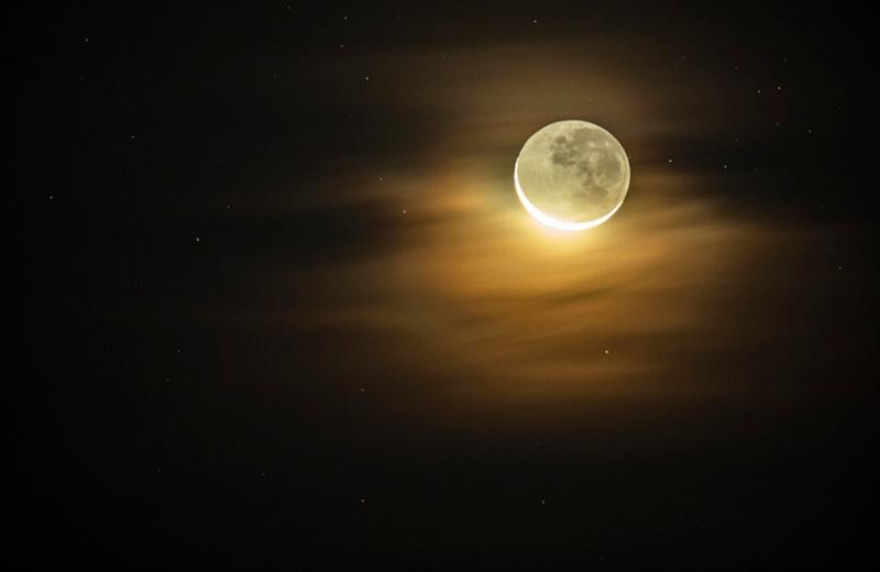El beso de Venus y la Luna se podrá ver hoy y mañana viernes