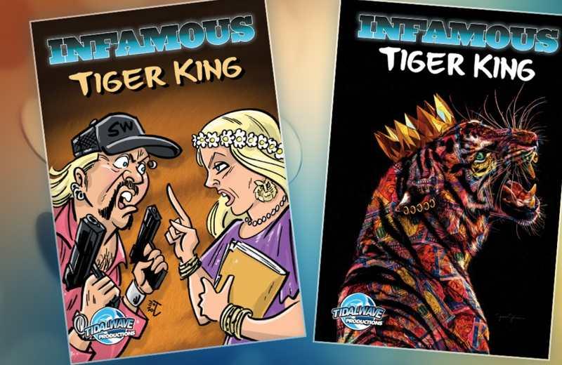 Llegada del cómic 'Infamous Tiger King' cobra popularidad