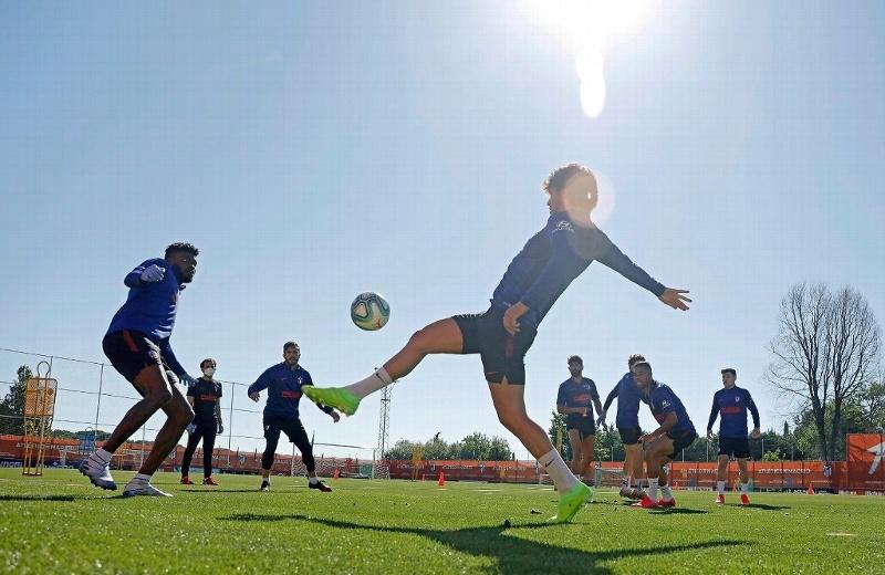 Empiezan entrenamientos grupales en La Liga de España