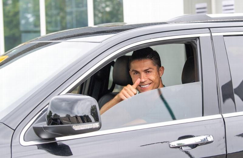 ¡Cristiano regresa a entrenar con la Juventus!