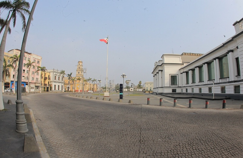 Hoy, 40 grados Celsius de sensación térmica en Veracruz; podría llover