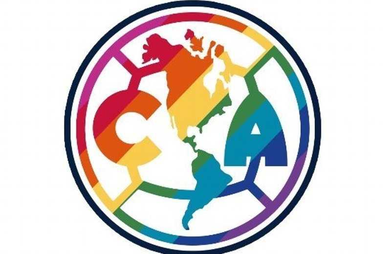 América cambia temporalmente su escudo en apoyo a la comunidad LGBT+
