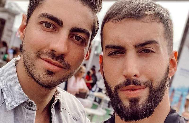 Roberto Carlo le pide matrimonio a su novio Rubén Kuri (+video)
