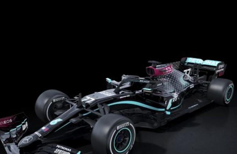 F1: Mercedes correrá con autos negros por lucha contra racismo