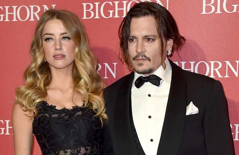 Johnny Depp declara que se divorció de Amber Heard porque ella defecó en la cama