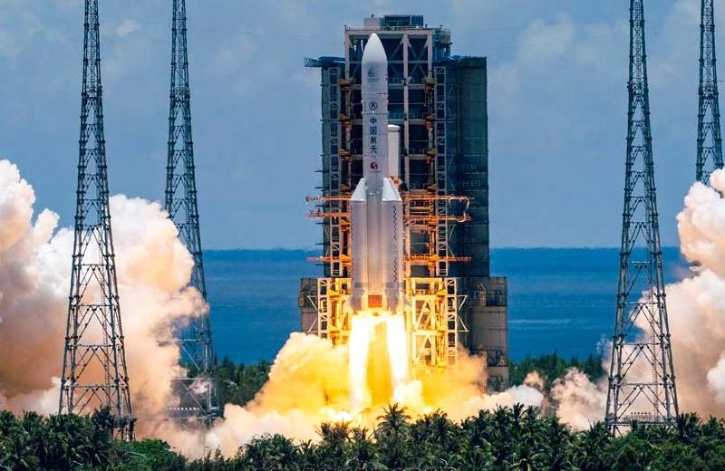 China lanza primera misión a Marte que llegará hasta el 2021 (+video)