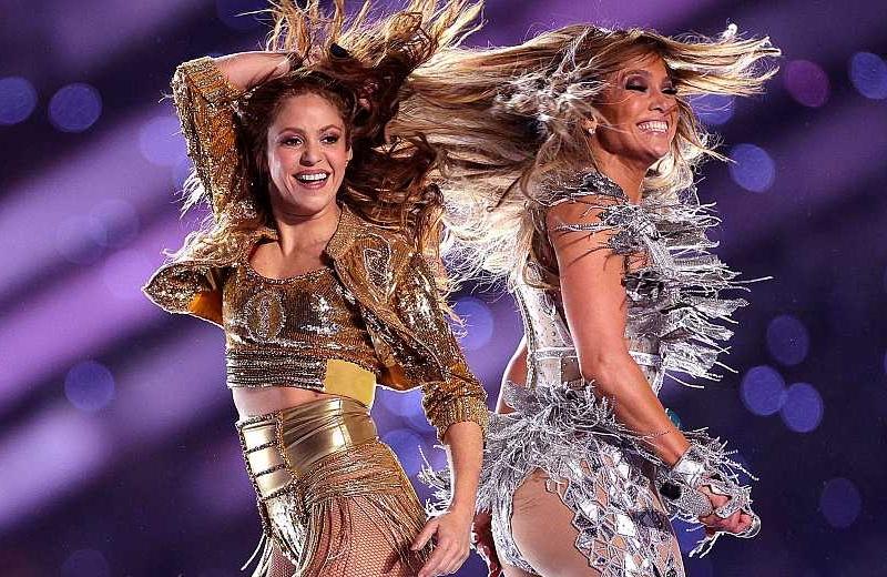 Con 4 nominaciones a los Emmy el espectáculo de Shakira y JLo en el Super Bowl (+video)