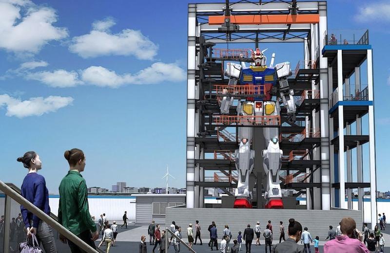 Construyen en Japón un robot de 20 metros que camina (+video)
