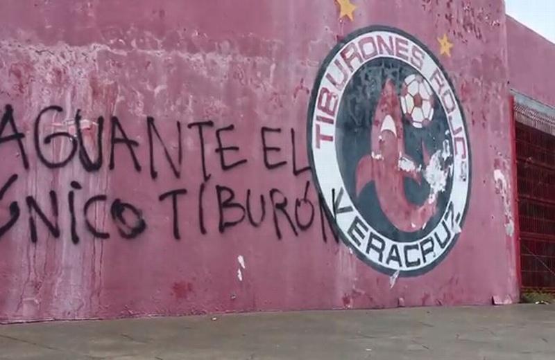 'El Pirata' amanece grafiteado