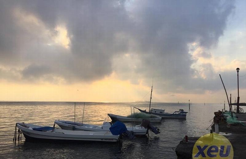 Calor de día y lluvias por la noche, en Veracruz