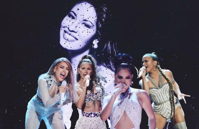 Danna Paola, Natti Natasha y más rinden homenaje a Selena en Premios Juventud (+video)