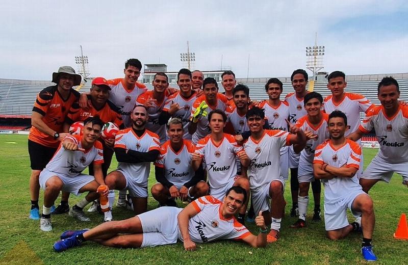 Terminó la primera semana de pretemporada del Atlético Veracruz