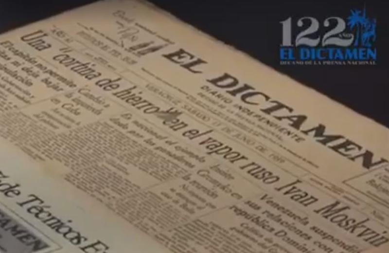 Cumple Periódico El Dictamen 122 años (+foto/video)