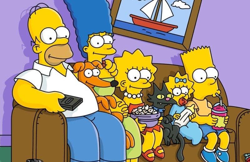 Anuncian el final de Los Simpson
