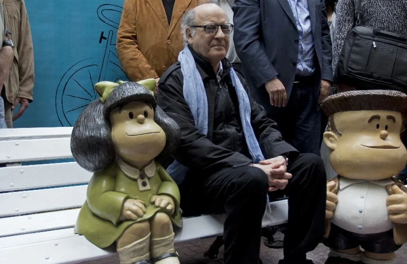 Fallece 'Quino' el 'padre' de Mafalda