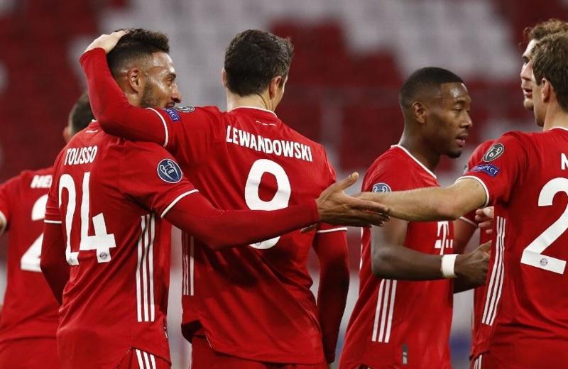 Bayern aplasta al Atlético de Madrid en Champions