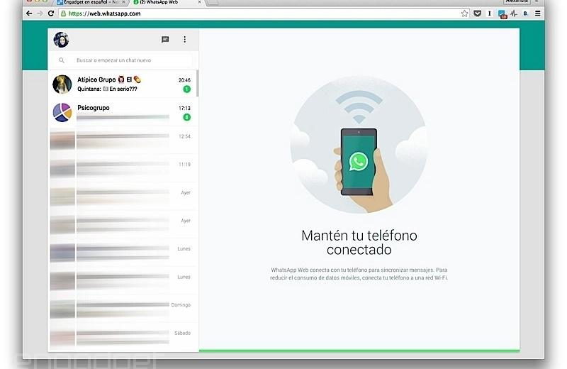 WhatsApp prueba las llamadas en la versión Web