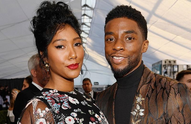 Entre lágrimas, viuda de Chadwick Boseman agradece homenaje a su esposo (video)