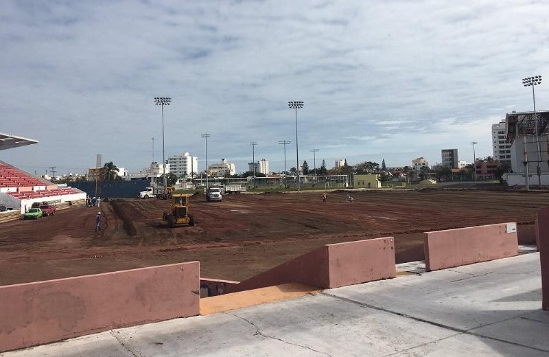 Así va la remodelación del estadio 'Beto Ávila' (+fotos/video)
