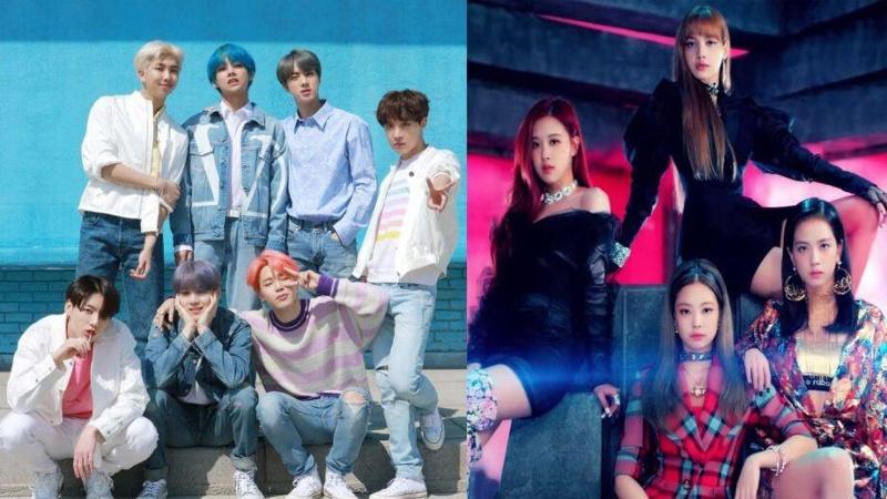 BTS vs BlackPink Idols del Kpop compiten por un especial