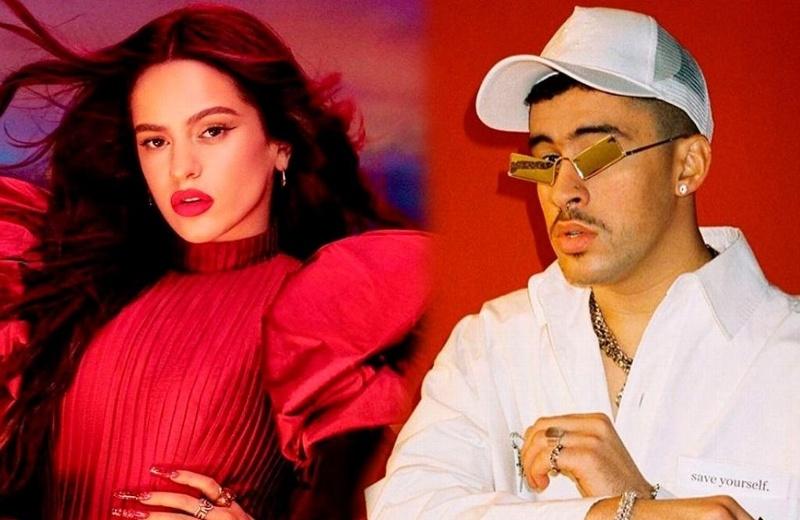 Rosalía y Bad Bunny cautivan al cantar en español en 'Saturday Night Live' (+video)