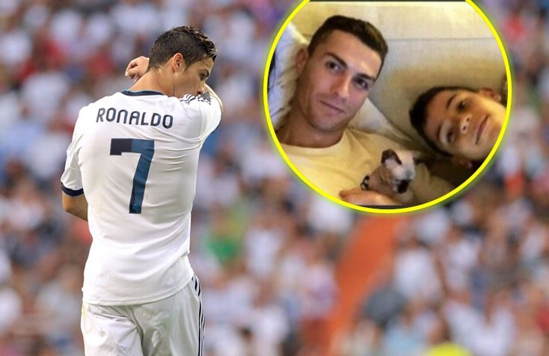 Tras ser atropellado, gato de Cristiano Ronaldo es trasladado en jet privado a España
