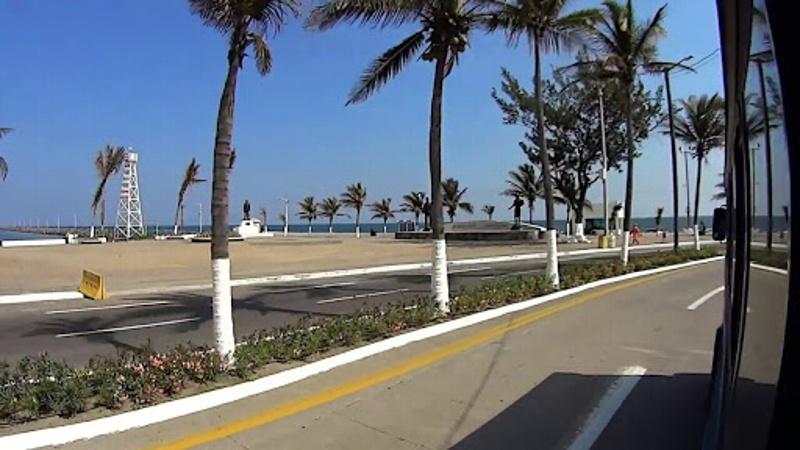 Martes cálido en Veracruz, 33° C temperatura máxima