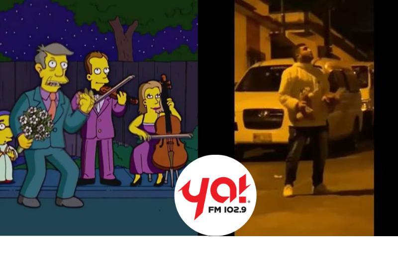 Los Simpson lo hacen de nuevo, predicen 'La Serenata Maldita'
