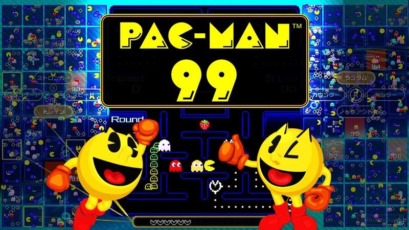 Nintendo pone en línea Pac-Man 99, un 'Battle Royale' de todos vs todos