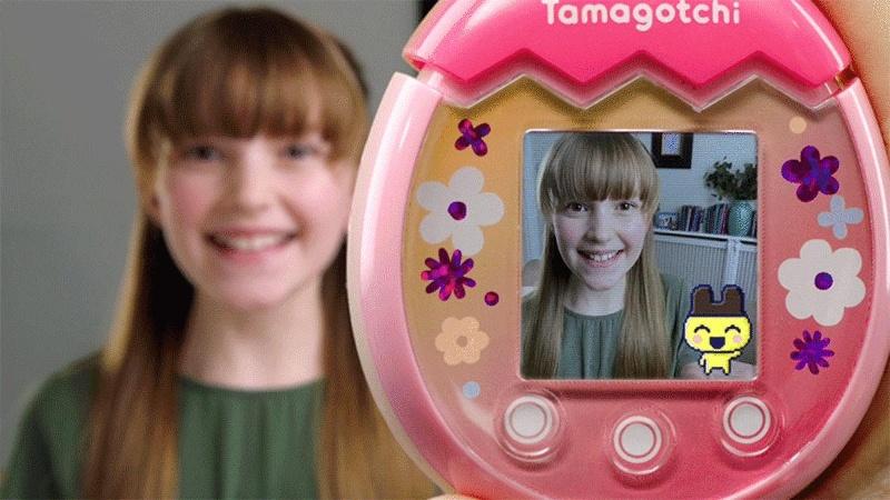 Bandai revive los Tamagochis; regresan con cámara y pantalla a color
