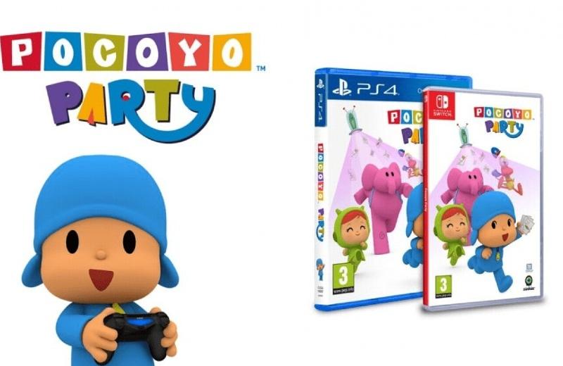 Pocoyo llega a PS4 y Nintendo Switch