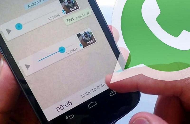 Así puedes elegir la velocidad de las notas de voz en WhatsApp