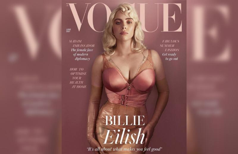 Billie Eilish es portada de Vogue y mueve las redes con impactantes fotos