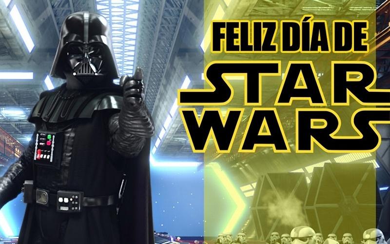 Hoy es el Día de Star Wars
