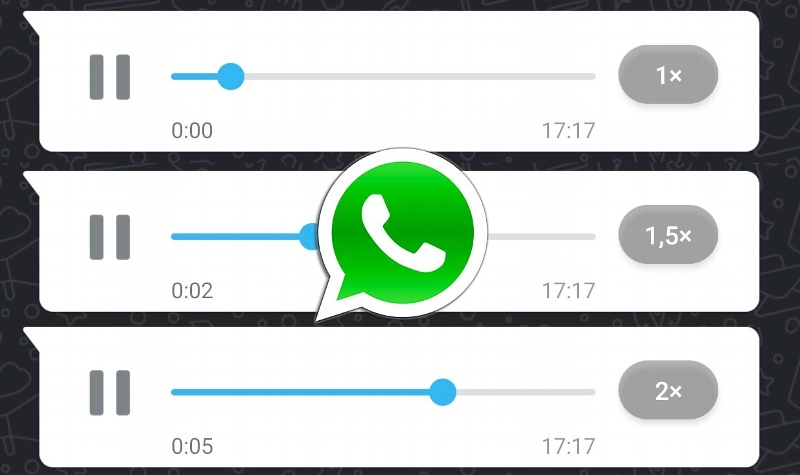 Así puedes cambiar la velocidad de los audios de WhatsApp