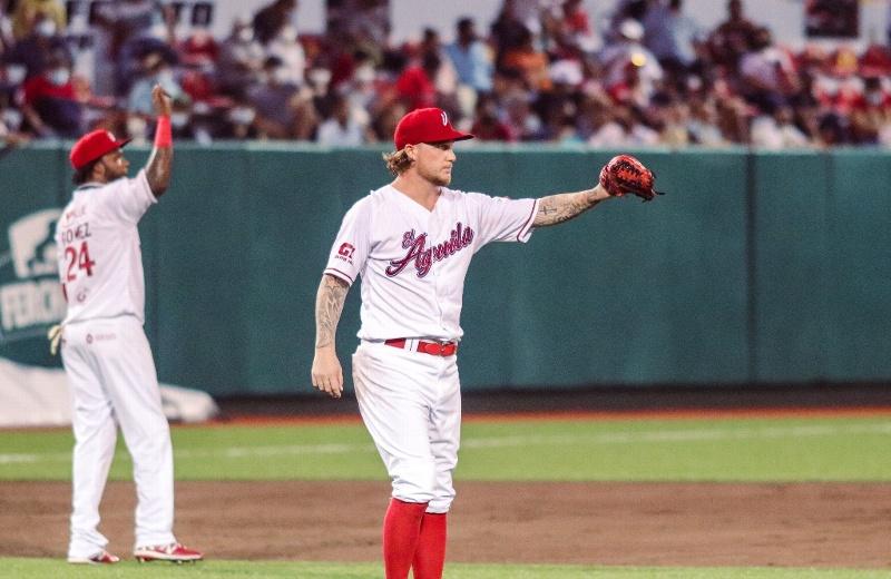 El Águila vence a Diablos Rojos con No-hitter de Unsworth