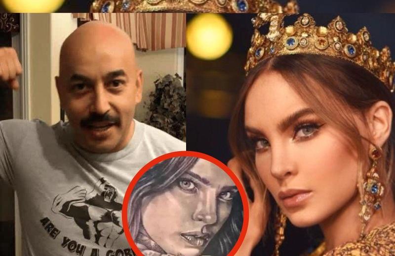 Lupillo se tapa tatuaje de Belinda y los memes son tendencia (+fotos)