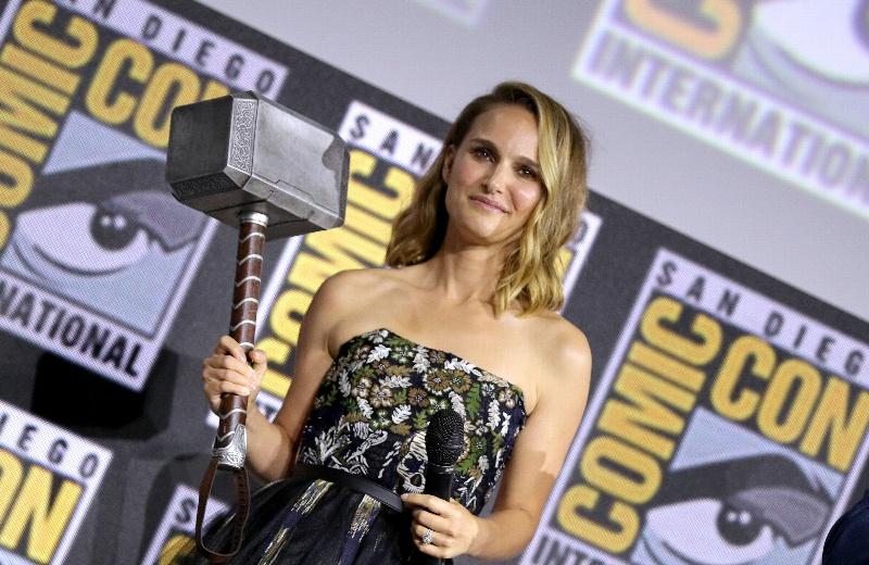 Revelan primer vistazo de Natalie Portman como 'Mighty Thor' (+fotos)