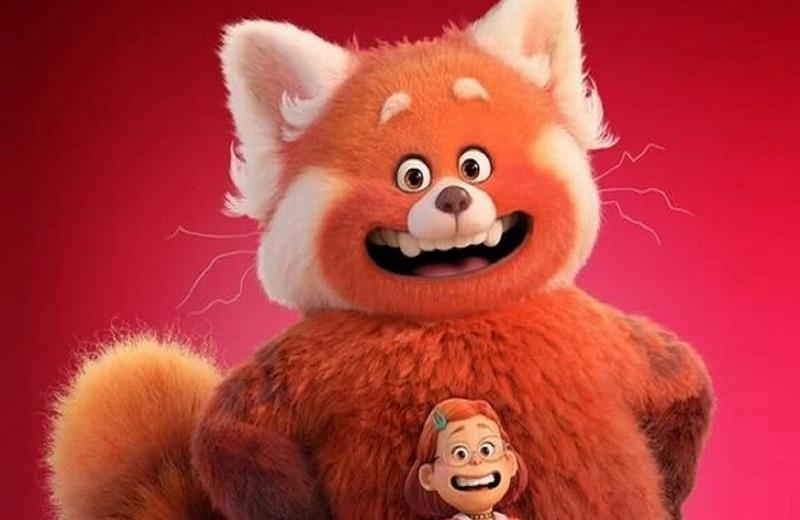 Un panda rojo es la nueva estrella de Pixar (+video)