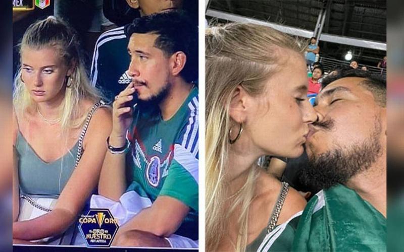 Ni el 3-0 de México Vs Guatemala se robó el show como la historia de amor en el Cotton Bowl (+foto y video)