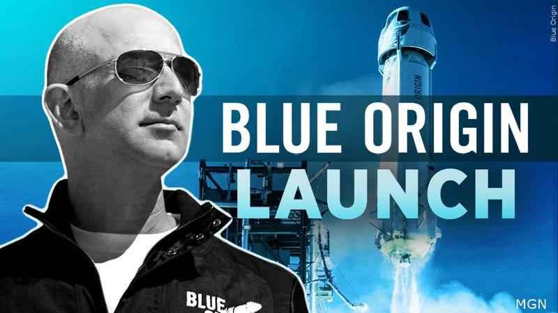 Jeff Bezos, el multimillonario dueño de Amazon, logra su sueño de viajar al espacio (+video)