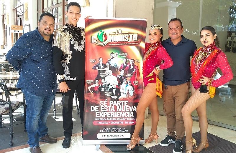 Anuncian Congreso y Competencia Internacional de baile en Veracruz