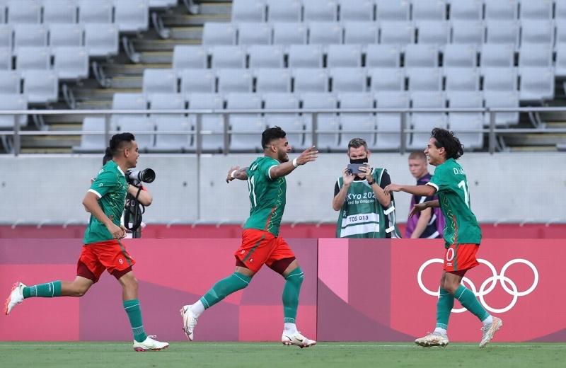 México aplasta a Francia en su debut en Tokio 2020