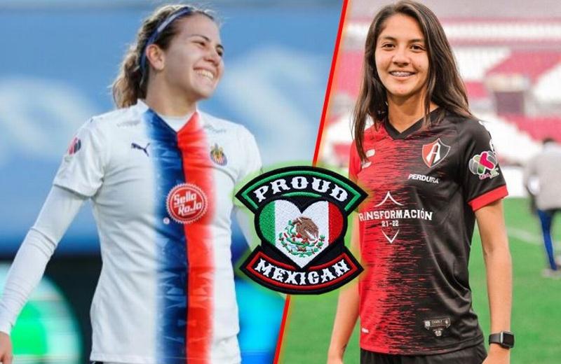 Dos mexicanas entre las tres mejores goleadoras del mundo #MexicanPower