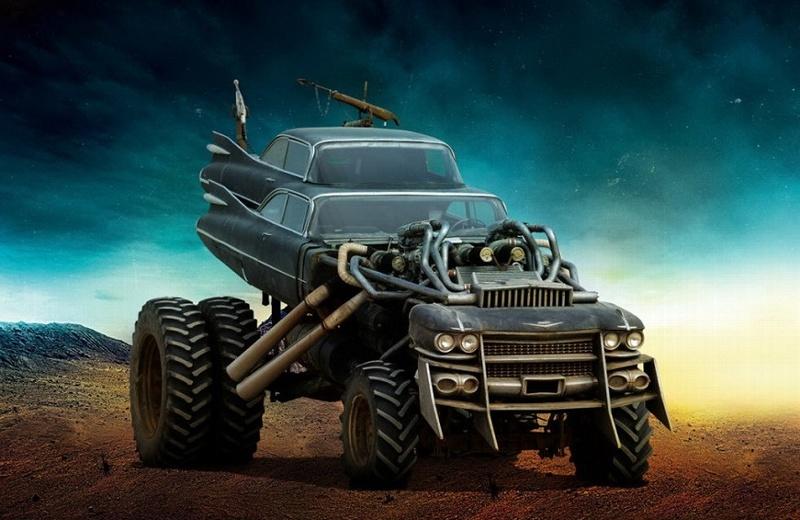 Subastan autos de Mad Max: Furia en la Carretera