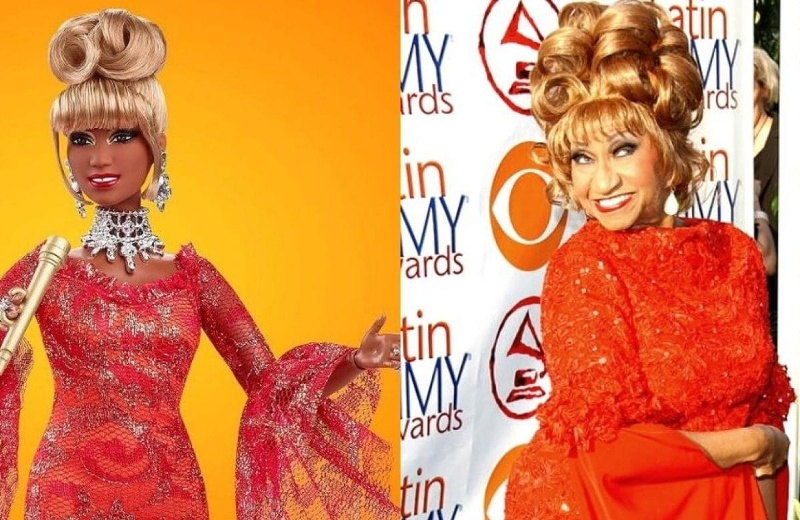 Celia Cruz ...¡revive en muñeca! (+ fotos)