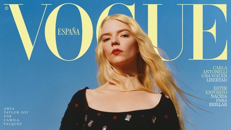 La actriz de Gambito de Dama 'Anya Taylor' protagoniza portada de Vogue (+foto)
