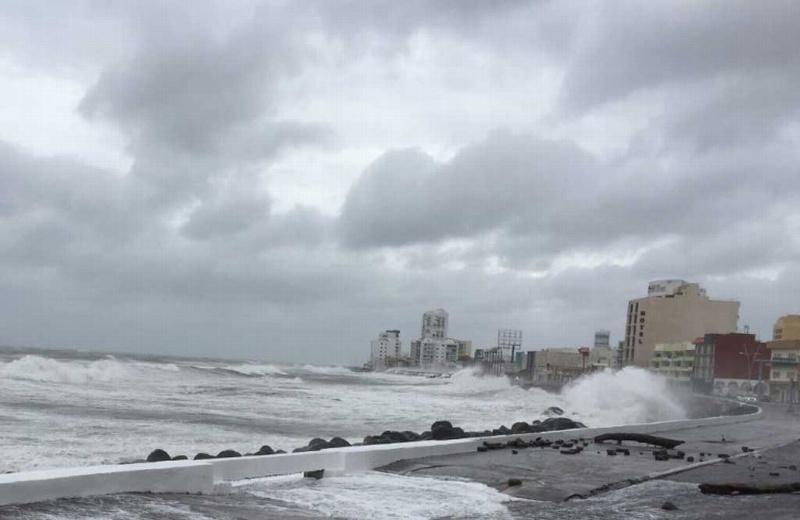 Miércoles día lluvioso, pronostican Frente Frio #1 para este jueves