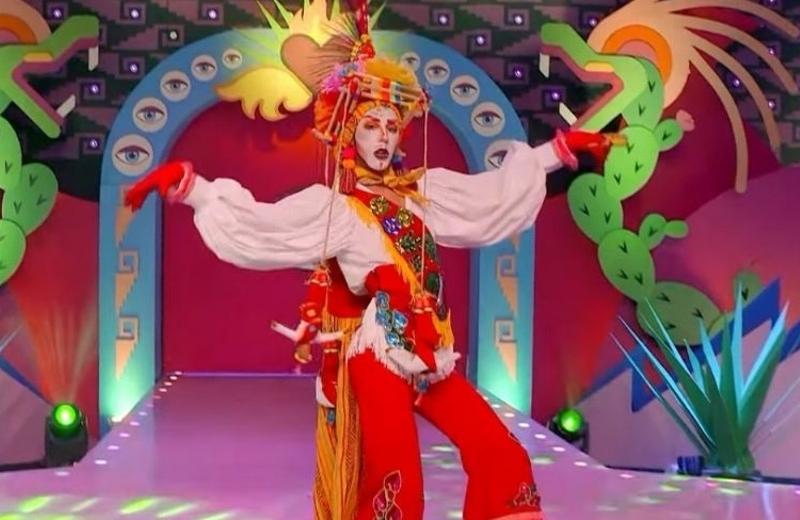 Polémica por uso de traje de Voladores de Papantla durante reality drag (+video)