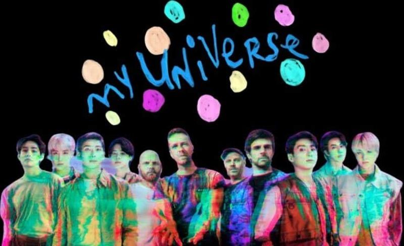 ¡La espera terminó! Coldplay y BTS estrenan 'My Universe' (+video)